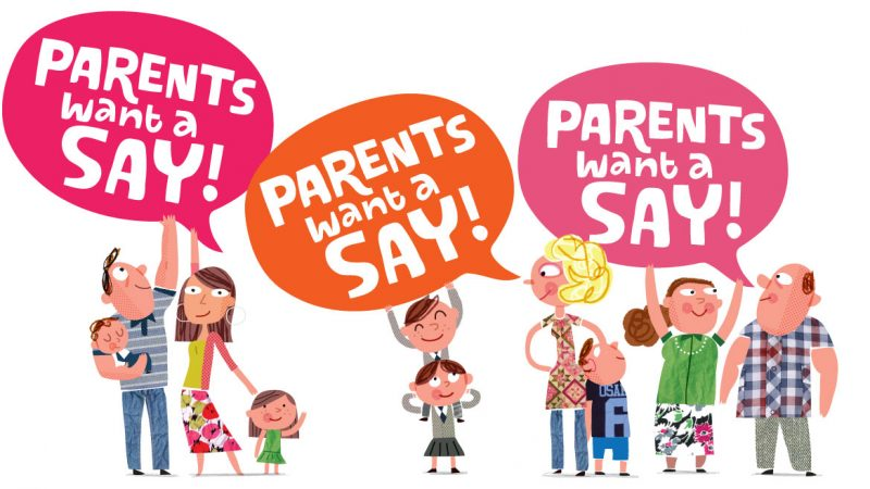 Parent Want A Say Campaign 1